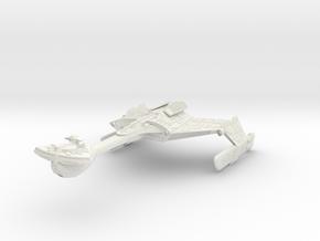 Klingon Warbird II in White Strong & Flexible