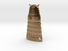 Dalek Robot 1.65 in Natural Brass