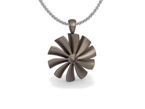 Turbine pendant in Stainless Steel