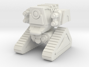 1/87 Scale Combat Drone in White Natural Versatile Plastic