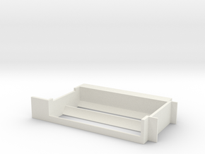 18650 Paralell or Series Sled 1590G in White Natural Versatile Plastic