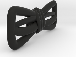 Hand sketched bow-tie in Black Natural Versatile Plastic