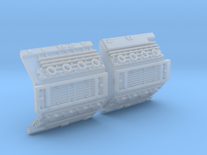 YT1300 HSBRO FRONT MANDIBLES SIDEWALL in Smooth Fine Detail Plastic