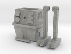 Gonk droid (Ramp walker toy) in Metallic Plastic