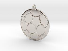 Soccerball in Platinum