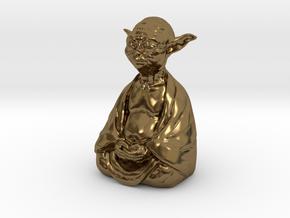 YodaBudda in Polished Bronze