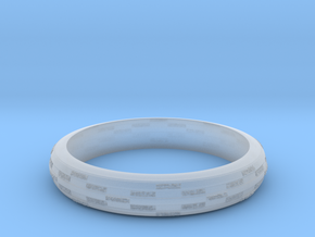 Ring Hilly special in Smooth Fine Detail Plastic