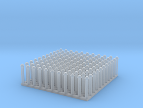 """1:24 Conical Rivet Set (Size: 0.75"""") in Smooth Fine Detail Plastic"""