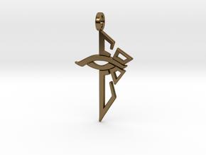 Ingress Enlightened Pendant in Polished Bronze