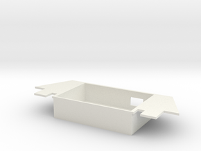 FX-61 Phantom Rear Tray in White Natural Versatile Plastic
