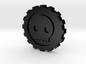 Cog Dubloon 10 piece in Matte Black Steel