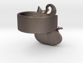Fairytale Pumpkin Ring in Stainless Steel: 6.5 / 52.75