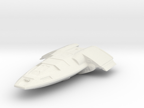Fighter Shuttle in White Strong & Flexible