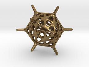 Adenovirus Pendant in Natural Bronze