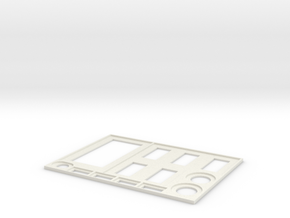 Star Wars: Armada - Command Tray in White Natural Versatile Plastic