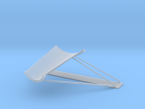 17-Plume Deflector in Smooth Fine Detail Plastic