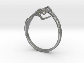 Mermaid Bracelet  in Natural Silver