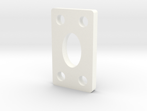 DO - KICK-UP - SHIM - O DEGREE - .150 THICK in White Processed Versatile Plastic