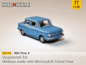 NSU Prinz 4 (TT 1:120) in Frosted Ultra Detail