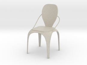 Spring chair in Natural Sandstone