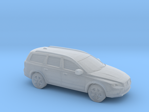 1/87 2015 Volvo XC 70 in Smooth Fine Detail Plastic