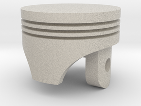 Piston Head. First Real Design :3  in Natural Sandstone
