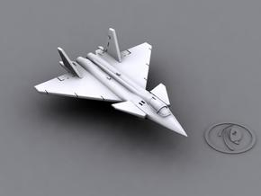 1/900 Mikoyan Project 1.44 (x6) in Smooth Fine Detail Plastic
