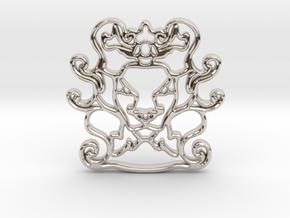 The Leon Pendant in Platinum