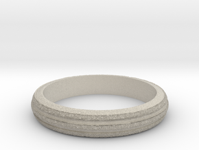Ring Hilly Full in Natural Sandstone