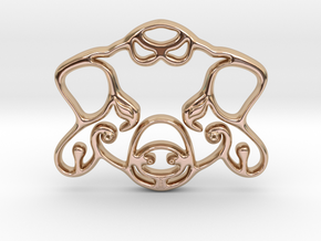 The Pig Pendant in 14k Rose Gold