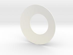 New Size! Lieberkühn Reflector 51mm lens diameter, in White Processed Versatile Plastic