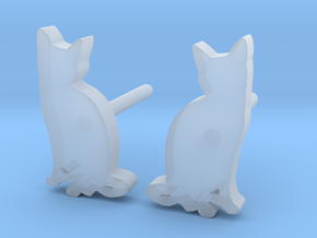 Cat Studs (Ver. 2) in Smooth Fine Detail Plastic