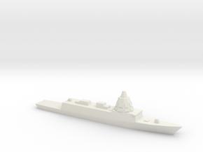 ESPS F-110 Frigate, 1/3000 in White Natural Versatile Plastic