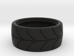 1/10 scale drift tire in Black Strong & Flexible