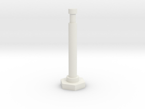 """48"""" Delineator """"Grabber"""" Traffic Cone in White Strong & Flexible"""