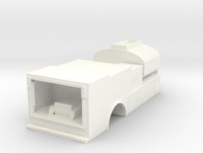 1/64th Fuel Lube body Version 2 in White Processed Versatile Plastic