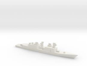 USS Hayler, Original Plan, 1/2400 in White Natural Versatile Plastic