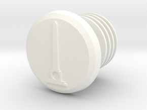 Bar-End V2.0 De Naald in White Processed Versatile Plastic