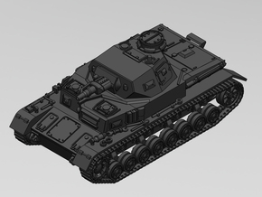 1/87 Pz Kpfw IV Ausf.D in Smooth Fine Detail Plastic