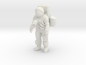 1: 16 Apollo Astronaut a7lb Type Nr ll in White Natural Versatile Plastic