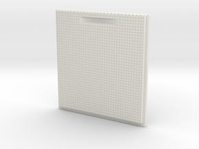Lid in White Natural Versatile Plastic