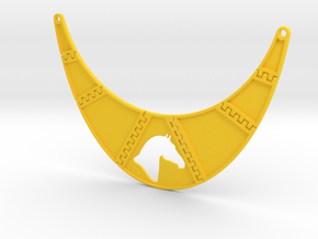 Branded Breastpiece Necklace (TheMarketingsmith) in Yellow Processed Versatile Plastic
