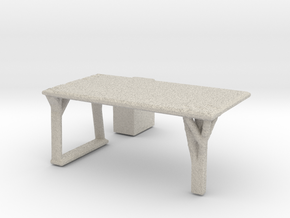 Flexible Table  in Natural Sandstone