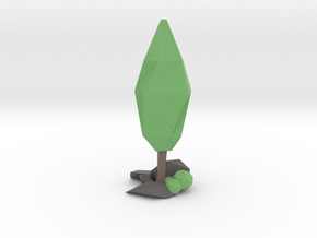Tree Low Poly Style - DAE in Full Color Sandstone