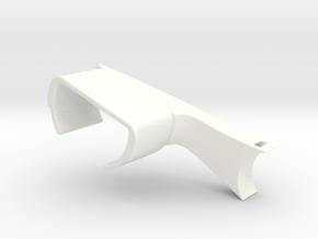 Bicycle handlebar watchholder in White Processed Versatile Plastic
