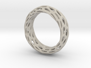 Trous Ring S9 in Natural Sandstone