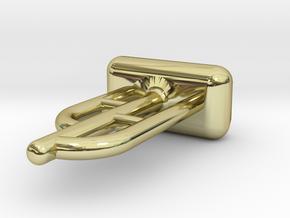 Tritium Ear Stud 1 (1.5x6mm Vial) in 18k Gold