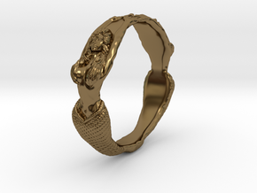 The Lady from the Sea bangle  in Polished Bronze