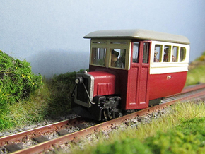 009 Donegal Irish Railcar  in White Natural Versatile Plastic