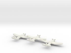 B7A2 Grace (Triplet) 1:900 in White Natural Versatile Plastic